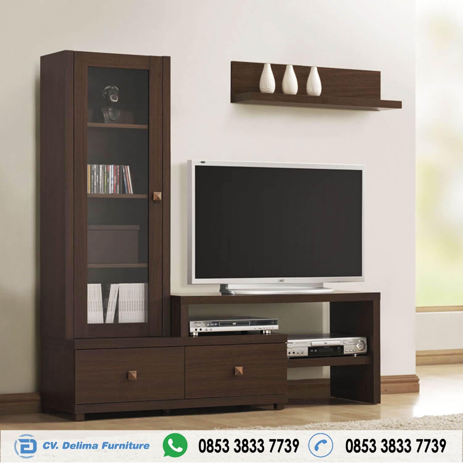 Minimalist Teak Tv Sideboard design L