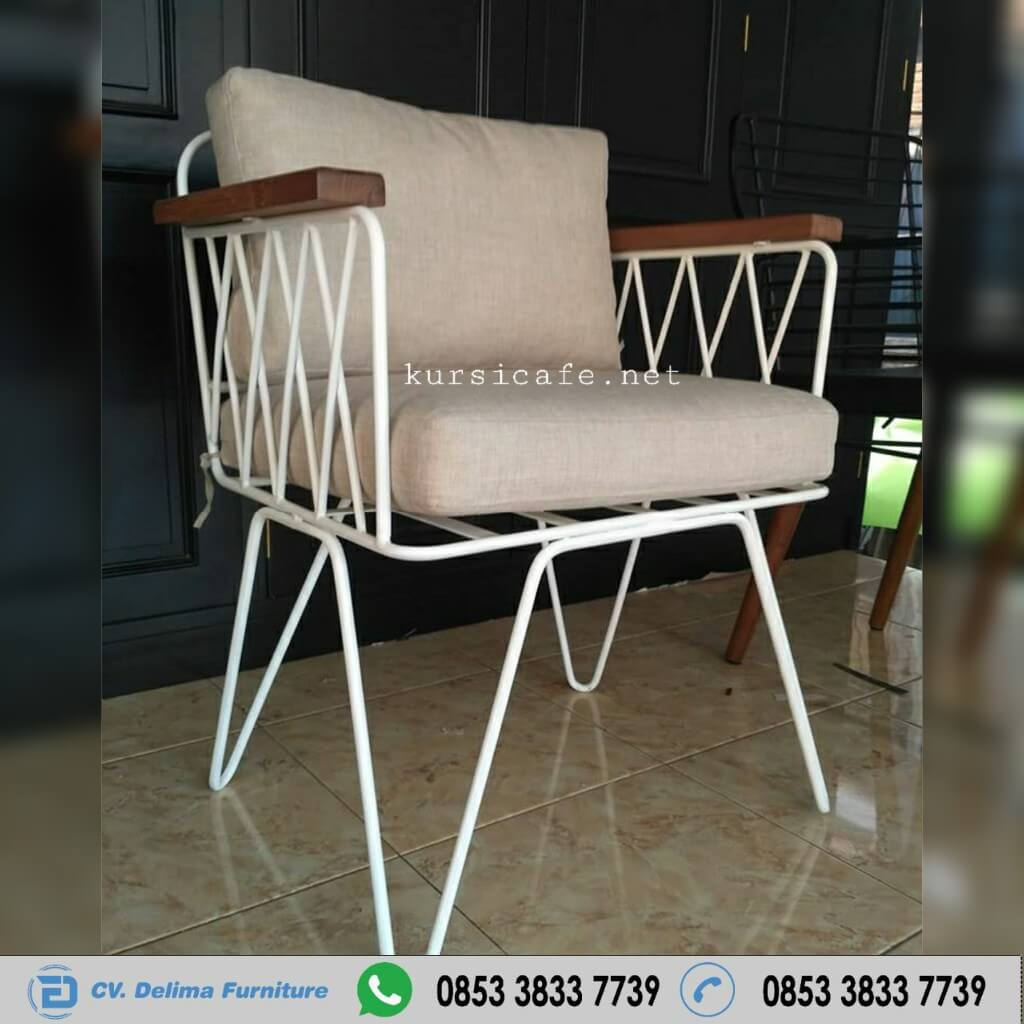 Modern Metal Iron Box Cafe Industrial Chairs Indonesian Furniture Shop